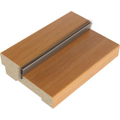 Коробка дверная квадратная Verda МДФ с уплотнителем 26х70 мм финиш-пленка миланский орех