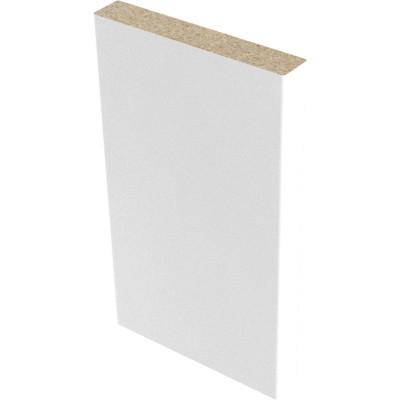 Наличник прямой Verda 70х8 мм финиш-пленка белый