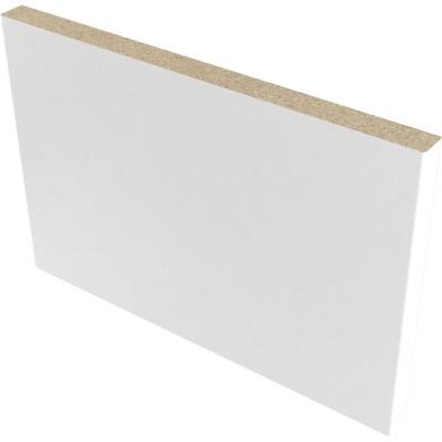 Доборная планка Verda 150х8х2070 мм финиш-пленка белый