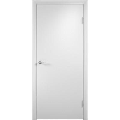 Дверное полотно глухое гладкое Verda 2000х800 мм финиш-пленка белый