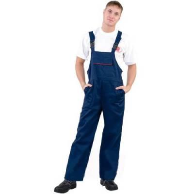 брюки мастер темно синий размер 56 58 рост 170 176 Полукомбинезон рабочий темно-синий размер 56-58 рост 170-176