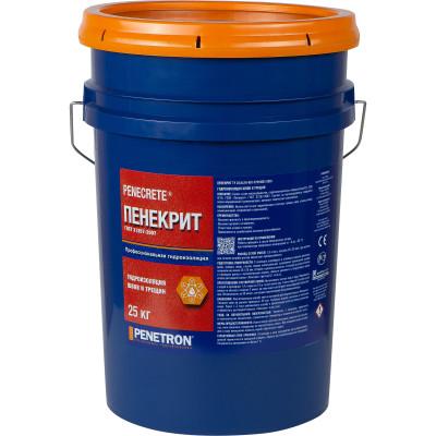 Сухая смесь для гидроизоляции швов Пенекрит ведро 25 кг