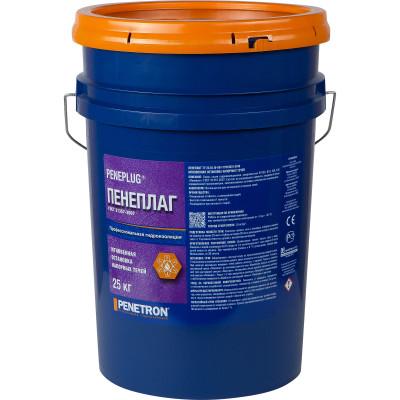 Гидропломба Пенеплаг мгновенная остановка напорных течей ведро 25 кг