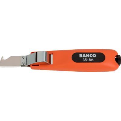 Стриппер кабельный Bahco оранжево-черные пластиковые ручки 185 мм длинногубцы bahco оранжево черные пластиковые ручки 140 мм
