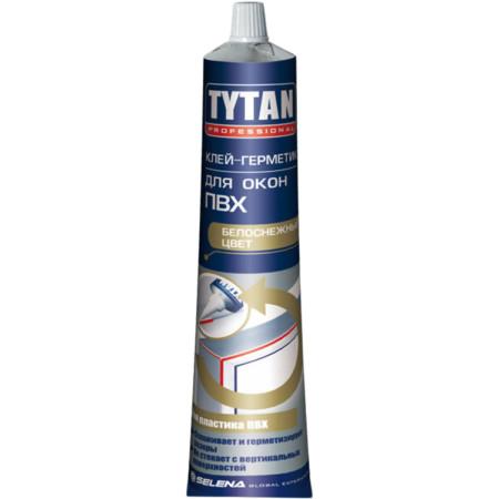 Клей-герметик Tytan Professional для окон ПВХ белый 200 гр