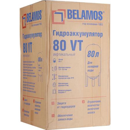 Гидроаккумулятор Беламос 80VT 80 л вертикальный