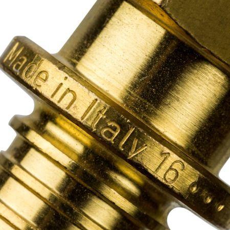 Переходник Stout d 16 мм x 1/2