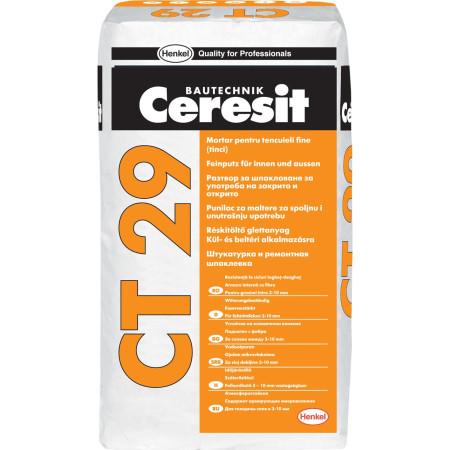 Цементная штукатурка Ceresit CT 29 5 кг