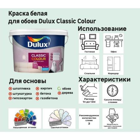 Краска Dulux Classic Colour для обоев BW 2.5 л