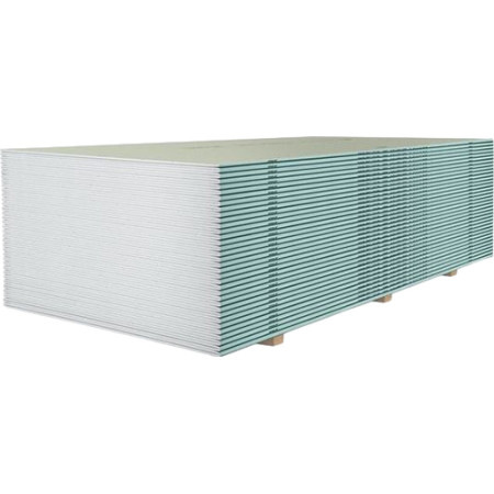 Гипсокартонный лист Knauf влагостойкий ГСП-Н2 2000x1200x12.5 мм