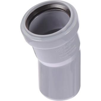 Отвод полипропиленовый Ростурпласт 50 мм 15 градусов