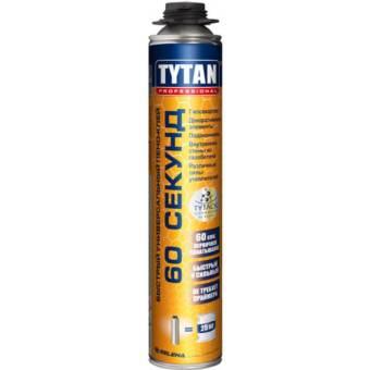 Клей-пена Tytan Professional 60 секунд 750 мл купить в интернет-магазине МаксиПРО