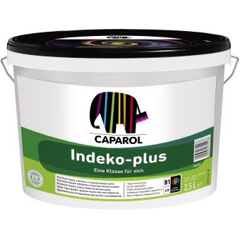 Краска водно-дисперсионная для внутренних работ Caparol Indeko-plus База 1 глубоко-матовая 2.5 л