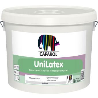 Краска водно-дисперсионная для внутренних работ Caparol Unilatex База 1 10 л