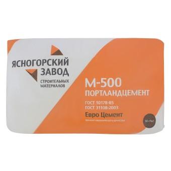 Цемент в мешках ЯЗСМ ПЦ-500 ЦЕМ I 42.5 Н 50 кг