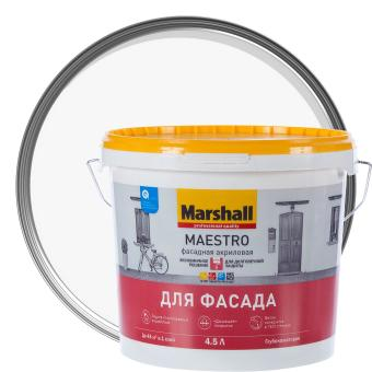 Краска фасадная Marshall Maestro BW 4.5 л