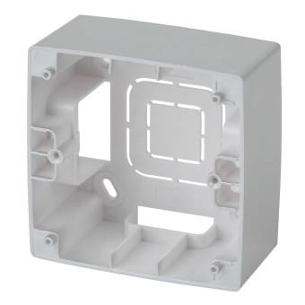 Коробка накладного монтажа Эра 12 1 пост алюминий