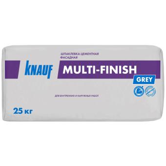Цементная шпаклевка Knauf Мульти-Финиш фасадная 25 кг