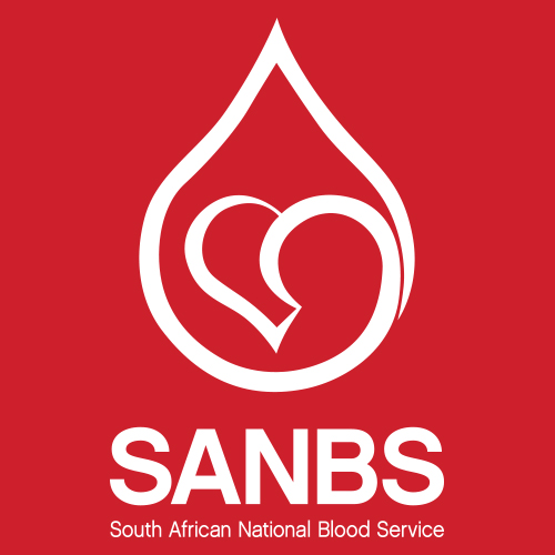 South African National Blood Service logo