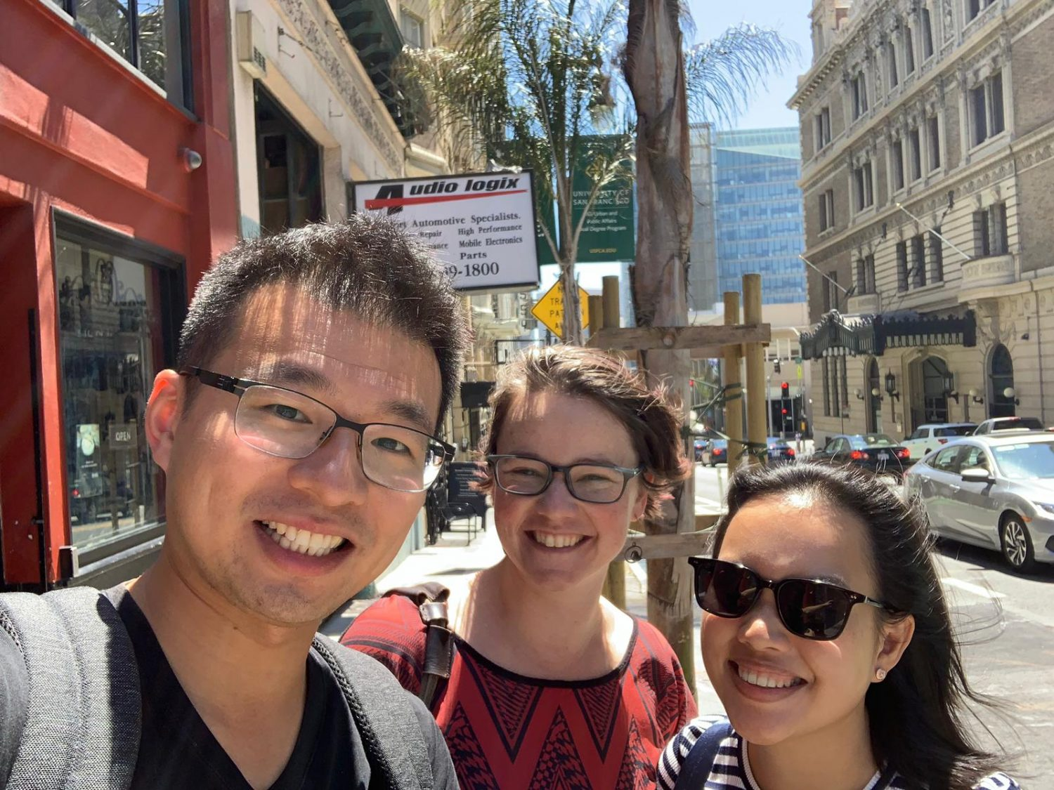 Krunchers meeting Mary Thengvall in San Francisco