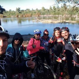 Cycling Tour with a group