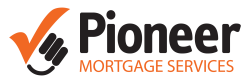 Pioneer mortgage services logo