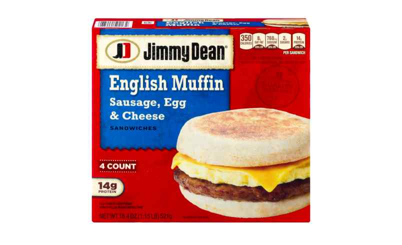 jimmy dean sausage egg and cheese