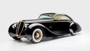 classic car on display