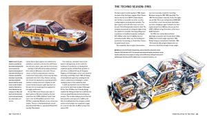 quattro book group b rally car