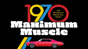 """the cover of the book """"1970 Maximum Muscle"""""""