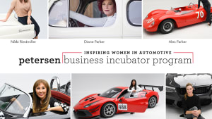 a collage of inspiring women in the automotive industry