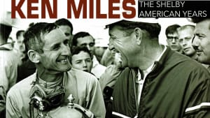 """cover of the book """"Ken Miles - The Shelby American Years"""" by Dave Freidman"""