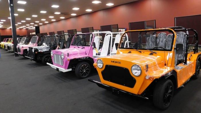 Moke Vehicle Lineup Bert's Mega Mall