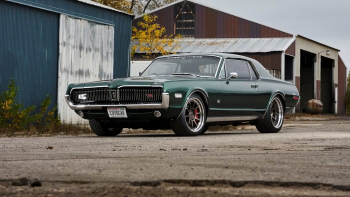 Ringbrothers resto-mod 1968 Mercury Cougar