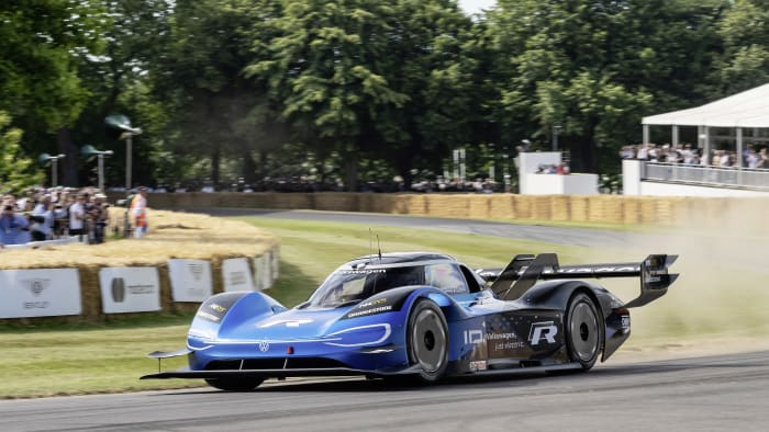 Volkswagen ID.R at Goodwood
