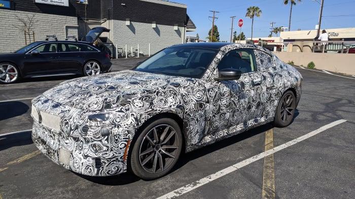 Camo BMW