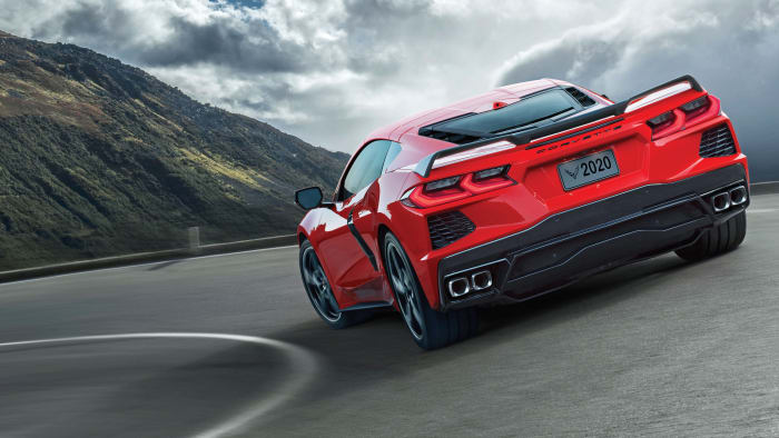 C8 Corvette Stingray red
