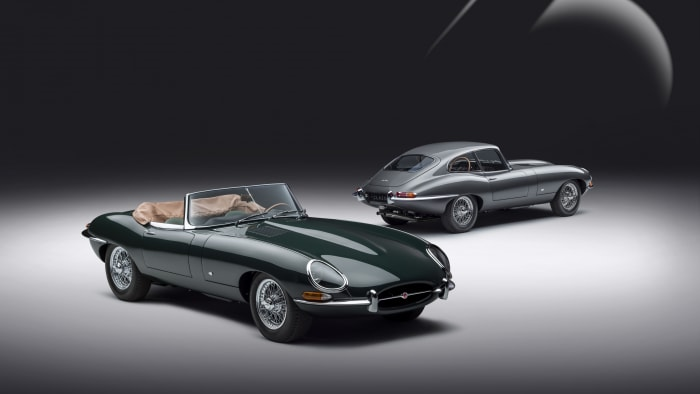Jaguar Classic E-type 60 Collection