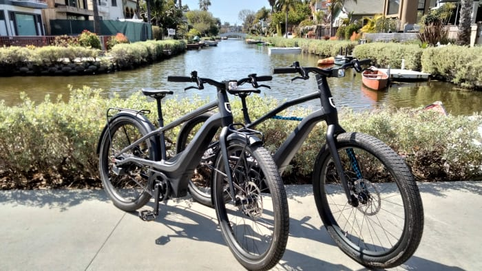 serial 1 ebicycles powered by harley davidson venice