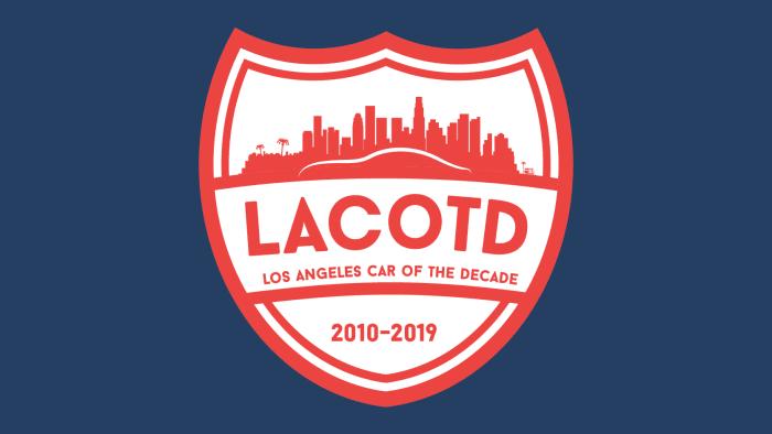 Los Angeles Car Of The Decade Artwork