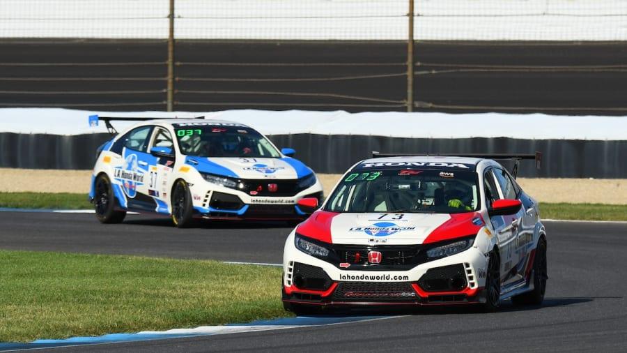 L.A. Honda World Racing at Sonoma