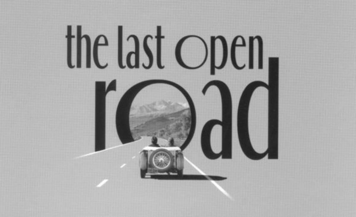 """The first Last Open Road by """"BS"""" Levy"""