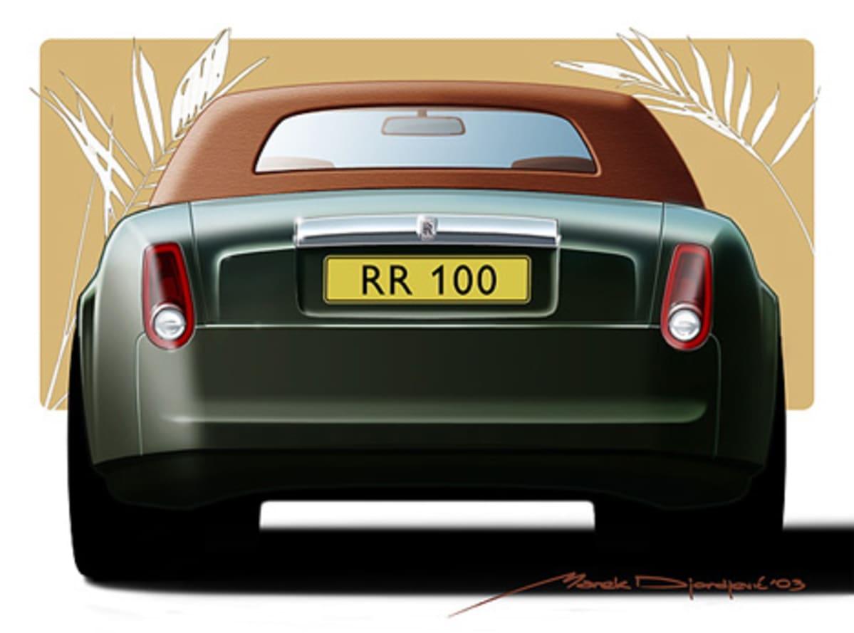 One of Marek's Rolls Royce designs