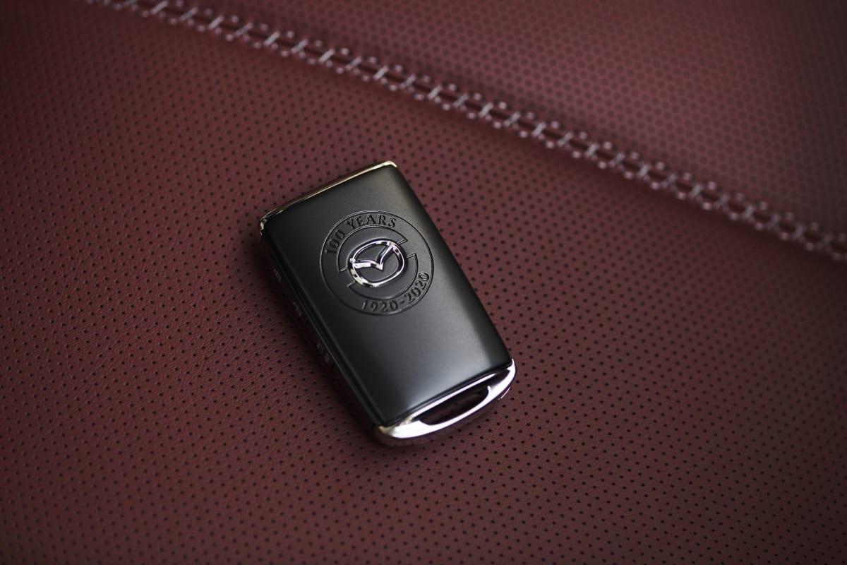 100Th Anniversary Mazda MX-5 Miata keyfob