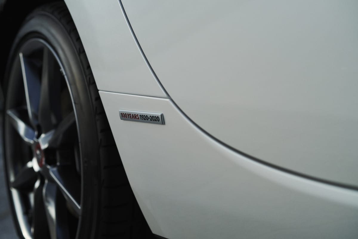 100Th Anniversary Mazda MX-5 Miata badge fender