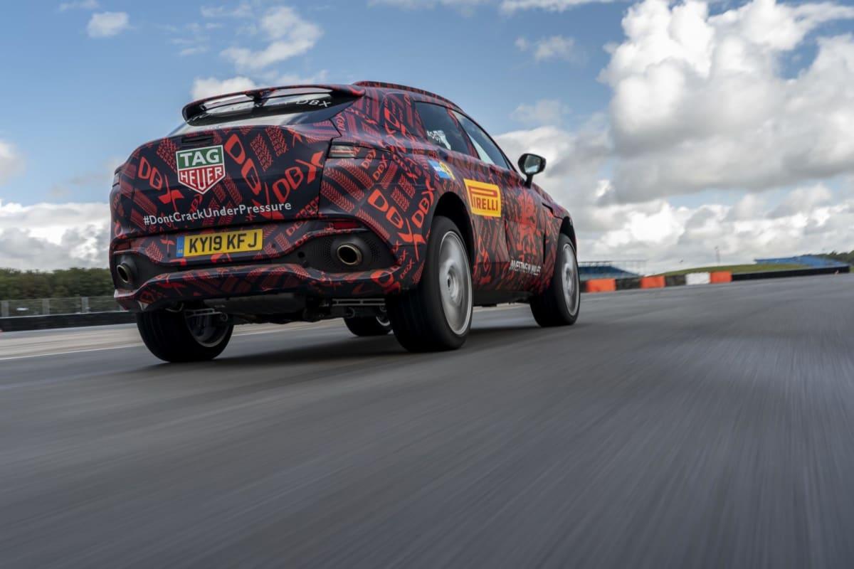 Aston Martin DBX – Prototype -2