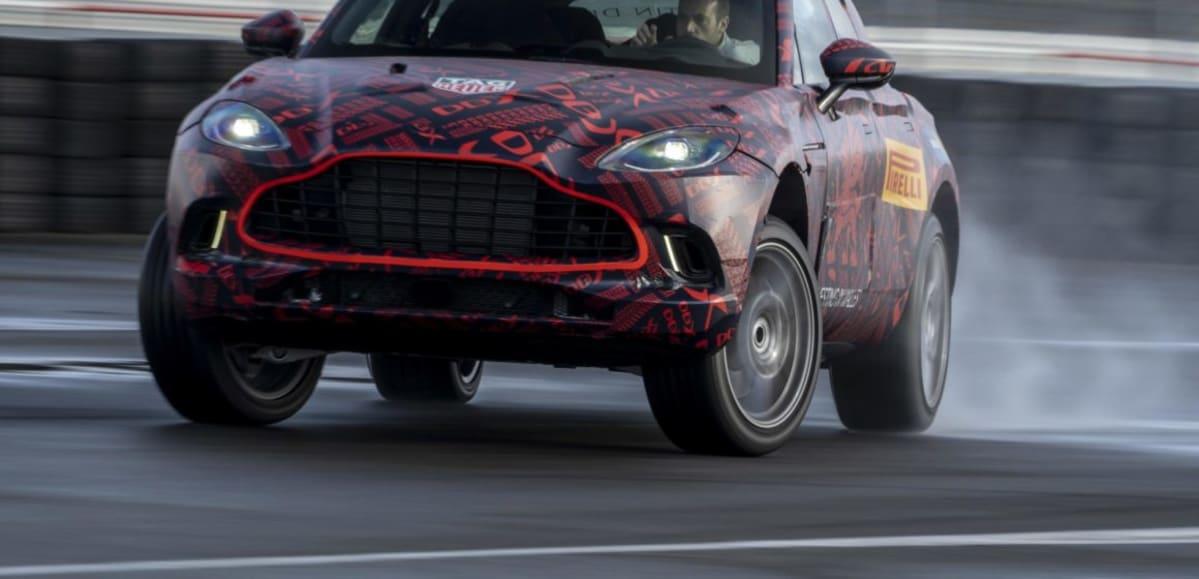 Aston Martin DBX – Prototype