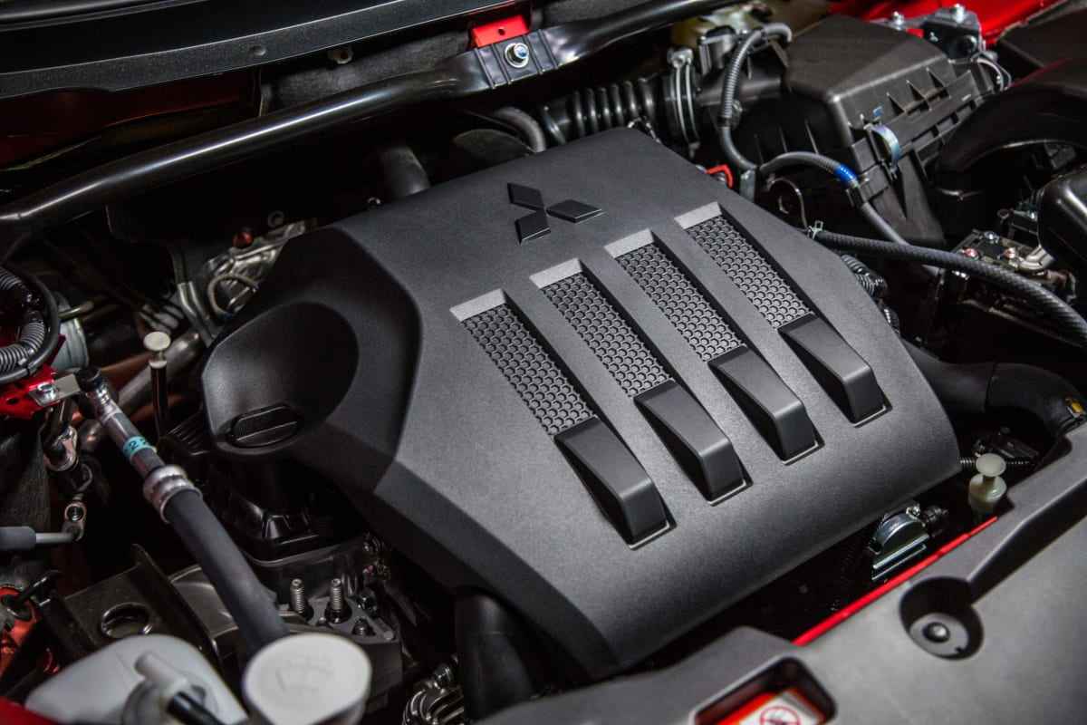 The 1.5 liter direct-injection turbocharged four-in-line in the 2019 Eclipse Cross