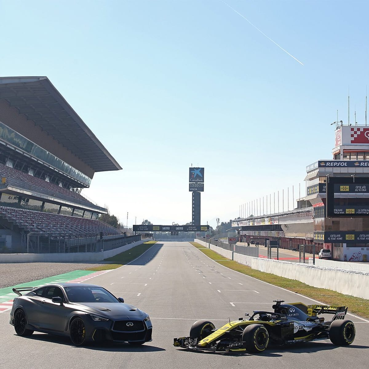Infiniti will conclude F1 involvement at the end of 2020. Photo courtesy of Infiniti Media.