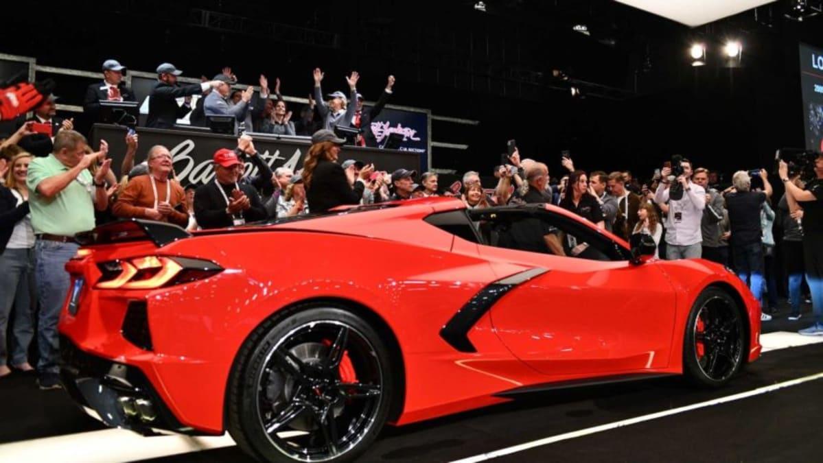 2020 Chevy Corvette Stingray VIN 001 sells for $3 Million